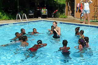 Camp Linden Pool